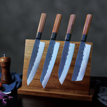 FANGZUO japanese kitchen knives Forged high carbon stainless steelchef knife Sharp Santoku Cleaver Slicing Utility Knives tool