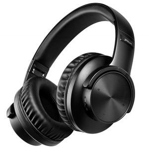 Image 1 - B8 Bluetooth 5.0 אוזניות 40H לשחק זמן מגע שליטה אלחוטי אוזניות עם מיקרופון על אוזן אוזניות TF אוזניות עבור טלפון מחשב