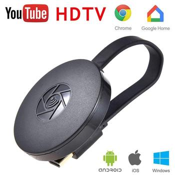 Nuovo di Alta Qualità HDMI Senza Fili Del Telefono Mobile Display del Ricevitore Dongle chromecast Pusher Digital Media Flusso Video HDTV
