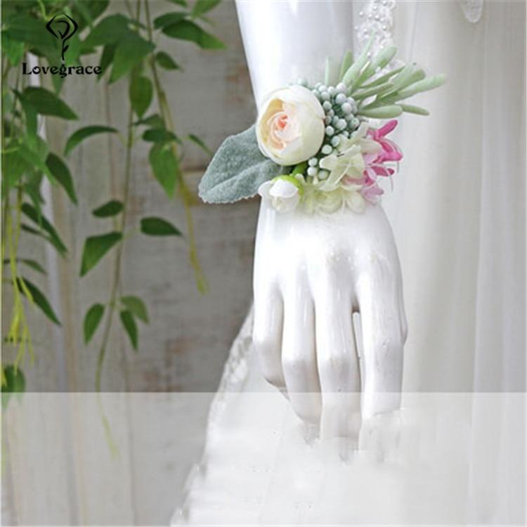 wedding wrist corsage  (3)