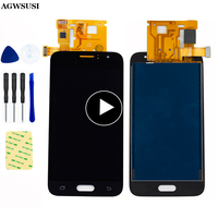 Per Samsung Galaxy J1 2016 Schermo LCD J120 SM J120F Display J120M J120H J120G LCD Pannello Touch Screen Digitizer Sensore montaggio