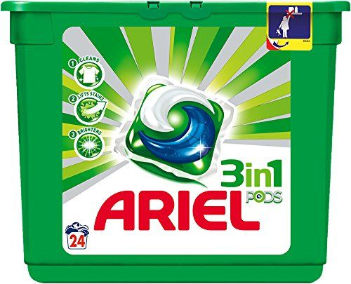 Ariel 3 in1 Pods – Detergent In Capsules For Washing Machine – 24 Capsules
