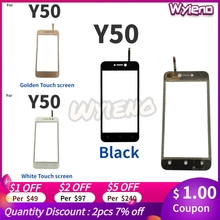 Screen Wiko Digitizer Glass-Panel Touchpad Wyieno for Y50 Tracking Tracking