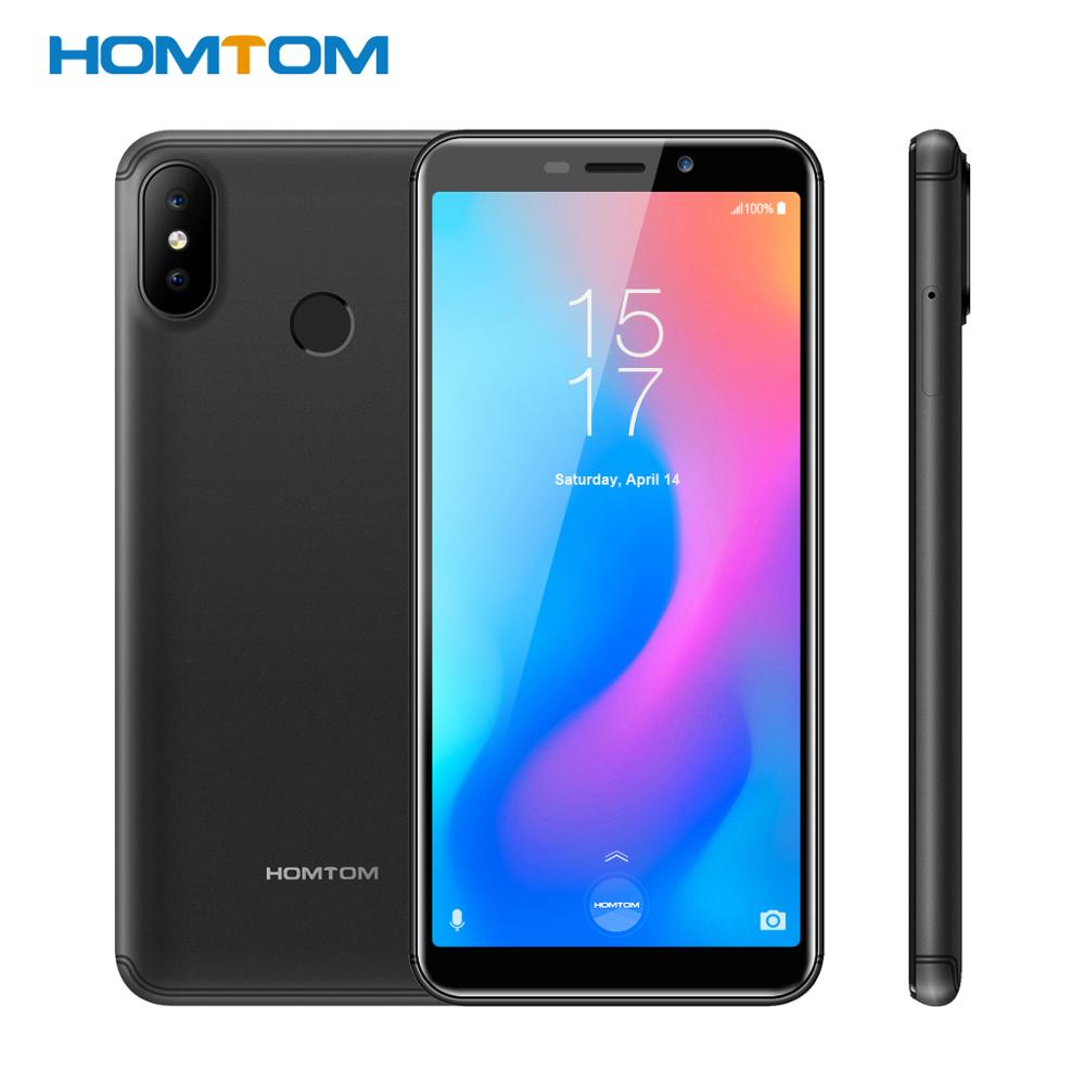 Global version HOMTOM C2 Android 8.1 2+16GB ROM Mobile Phone Face ID MTK6739 Quad Core13MP Dual Camera OTA 4G FDD-LTE Smartphone