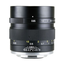 Mitakon Zhongyi Speedmaster 35mm f/0,95 Mark II Objektiv für Fujifilm XF X Pro2 T2 T3/ Canon EF M EOS M M6/ Sony E A6300 / MFT M4/3