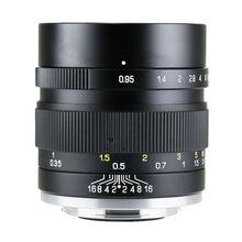 Objectif Mitakon Zhongyi Speedmaster 35mm f/0.95 Mark II pour Fujifilm XF X Pro2 T2 T3/ Canon EF M EOS M M6/ Sony E A6300 / MFT M4/3