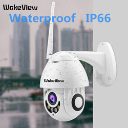 Wakeview Mini Kecepatan Tinggi Kubah Kamera Ip 1080P 4X Optical Zoom 2MP Luar Ruangan Tahan Air CCTV Video Surveillance HD IR malam Visi
