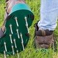 Газонная обувь-для эффективной аэрации почва лужайка-3 регулируемых плечевых ремня и тяжелых металлических пряжек-один размер подходит