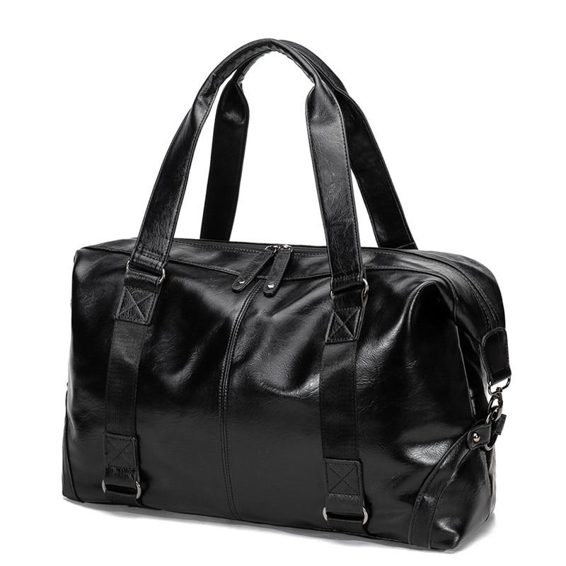 Men Briefcase Bag High Quality Business Famous Brand Leather Shoulder Messenger Bags Office Handbag Laptop