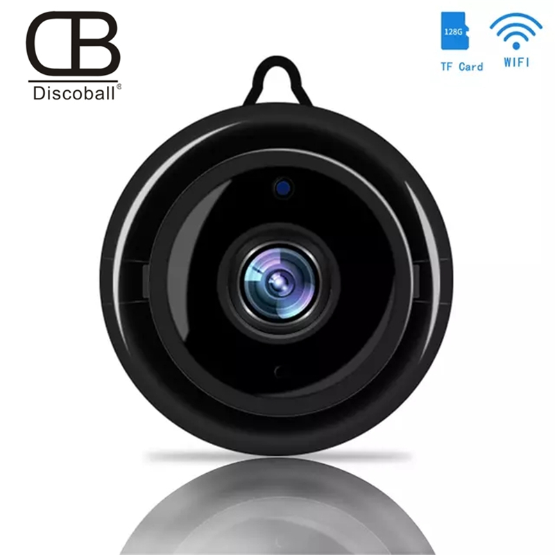 Mini Wireless WIFI IP Camera Home Security Infrared Night Vision Surveillance Camera SD Card Cloud Storage CCTV Baby Monitor