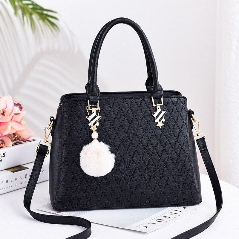 Womens Bag 2019 New Luxury Handbags Women Bags Designer Fashion Slung Shoulder PU Baguette