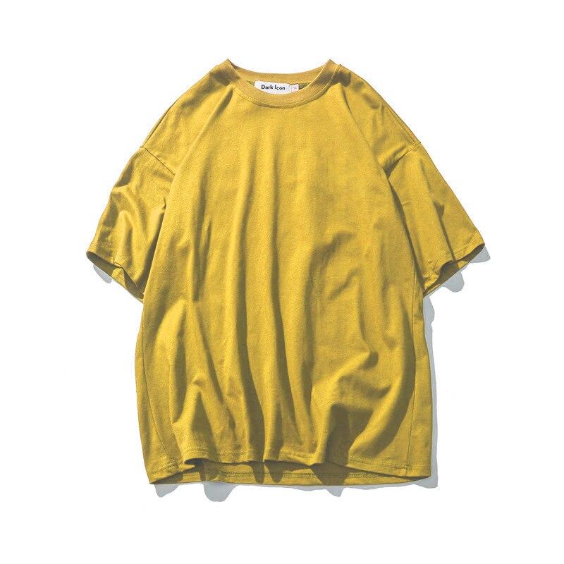 2018 модная мужская футболка, женские новые футболки, женские 2018 однотонные винтажные футболки, Хлопковые женские мужские топы с круглым