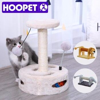 Giocattolo per gatti mobili da arrampicata gatto graffiare legno giocattoli interattivi gattino struttura da arrampicata 1