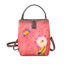 new women handbag genuine leather shoulder bag 100% cowhide lady casual shopping bags vintage leather large capacity tote bolsos Casual Tote Genuine Leather Large Capacity Luxury Handbags Women Bags 2020 New Vintage Cowhide Female Shoulder Bag