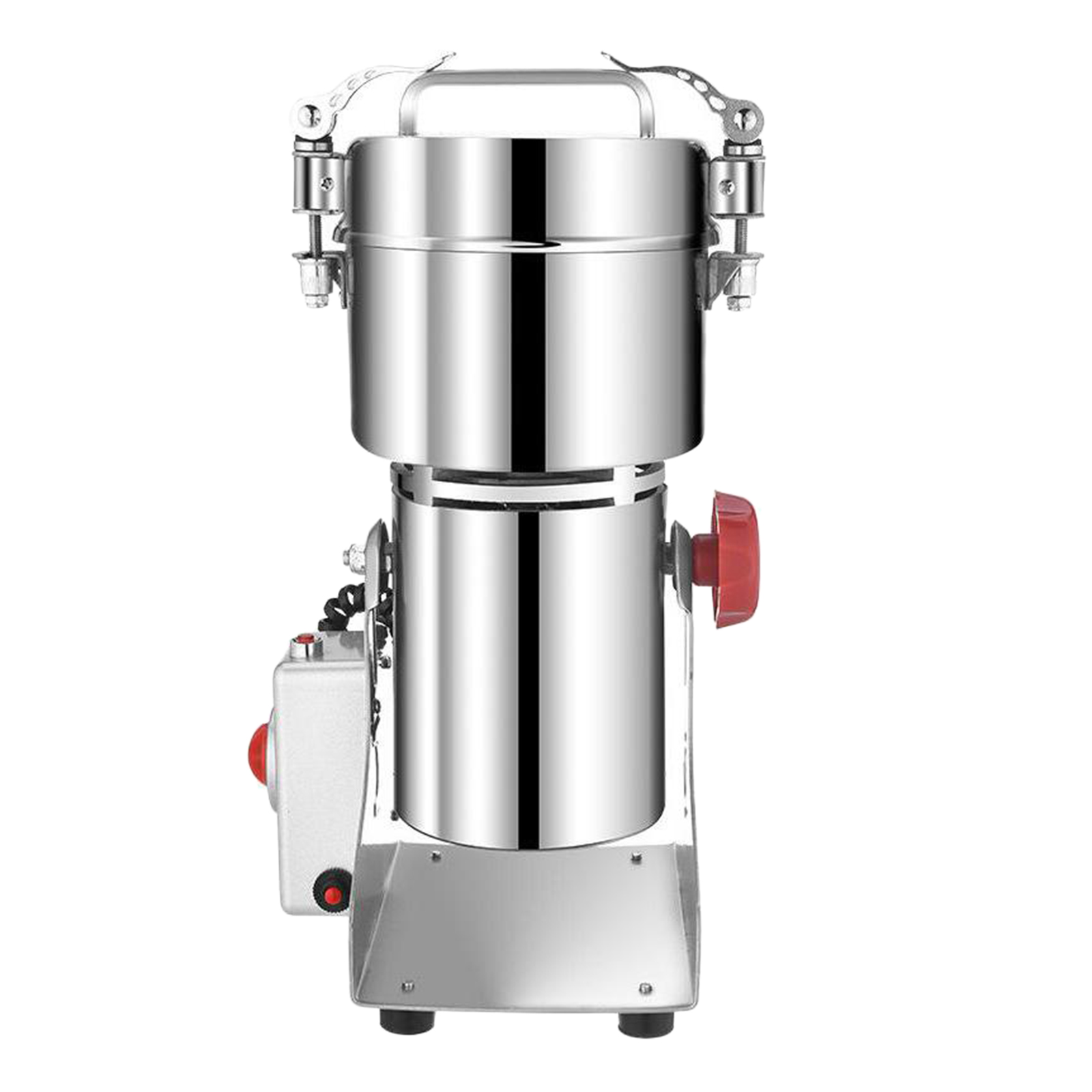 Stainless Steel Electric Coffee Grinder Machine Grain Spices Mill Medicine Wheat Flour Mixer Dry Food Grinder for Home Office