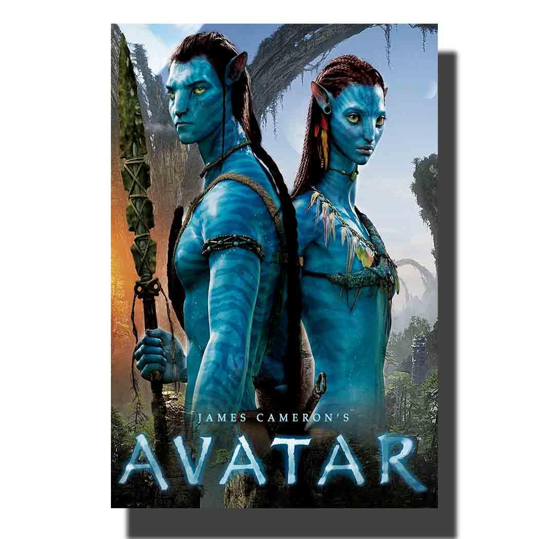 Costom Poster Avatar Movie Sam Worthington 12x18 27x40 Art Silk