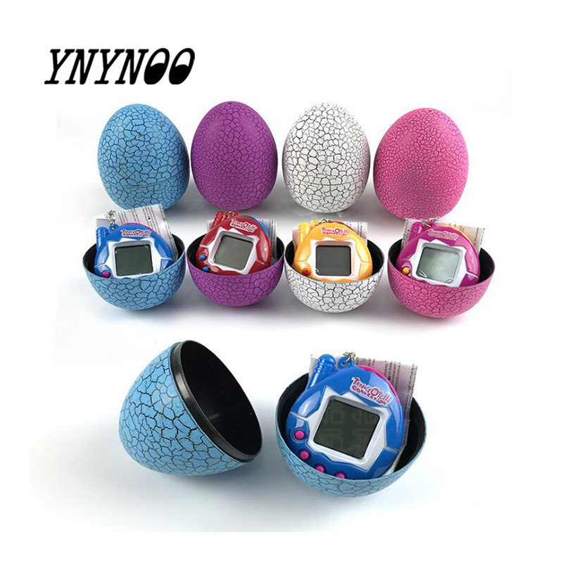 Tamagochi Dinosaur Egg Tumbler Led Tamaguchi Virtual Electronic Pet Machine Digital Electronic Handheld Game Toy For  Childen