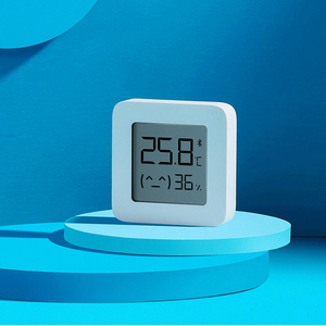 Image 3 - Xiaomi Mijia Temperature Humidity Sensor 2 Bluetooth Wireless Smart Digital LCD Screen Digital Moisture Meter For Smart Home