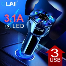 Quick Charge 3.0 Car Charger Portable 5V 3A Fast Charging GP