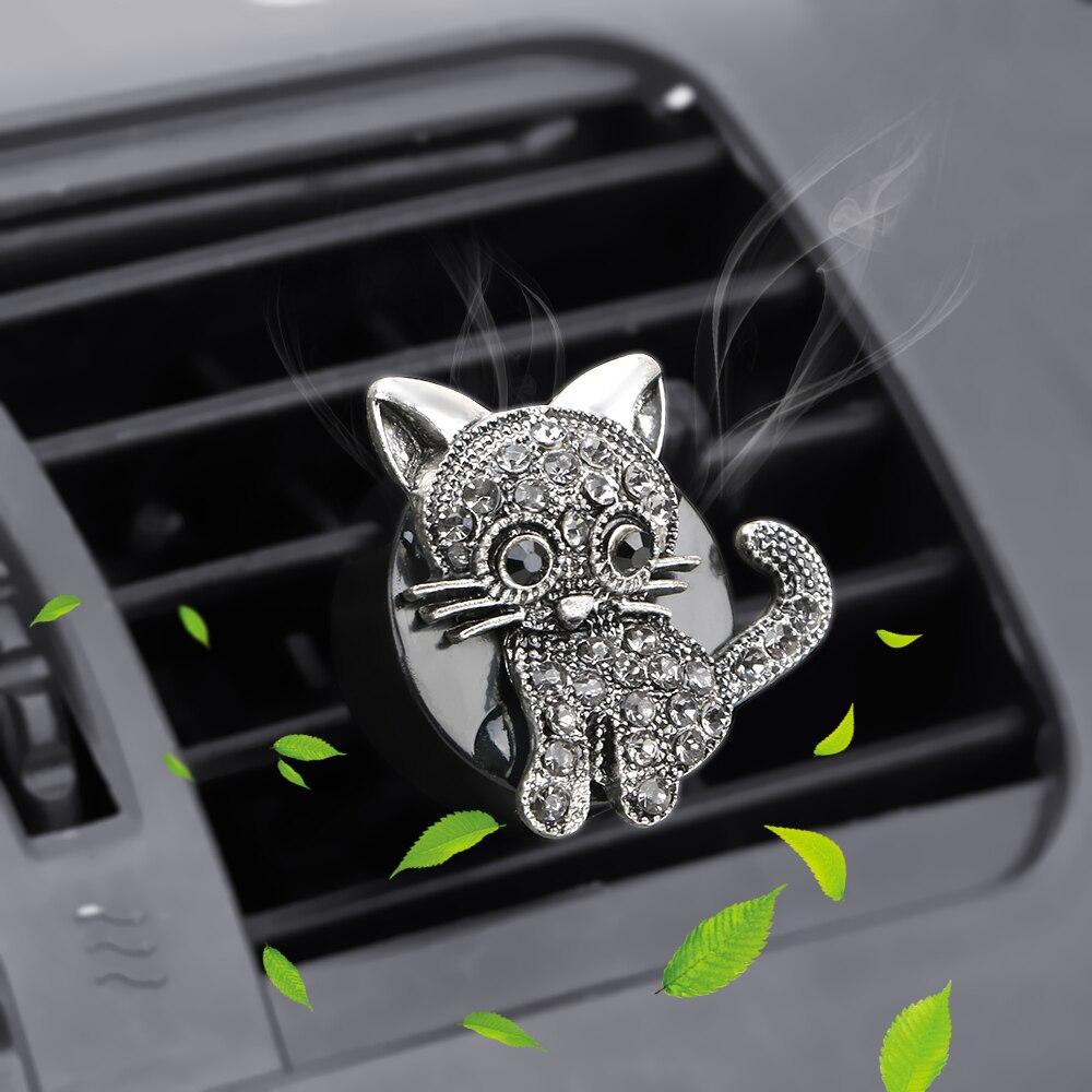 Ambientador con forma de gatito 2