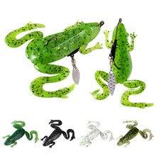 Sinking skip Frog soft lure wobbler fishing 8.5cm13g sea jig crank bait artificial trout pike bass swimbait