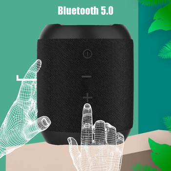 Outdoor Wireless Bluetooth 5.0 Stereo Portable Speaker Built-in mic Shock Resistance IPX6 Waterproof Speaker with Bass mifa outdoor bluetooth speaker rugged ipx4 waterproof speakers with powerful driver built in mic outdoor wireless speaker