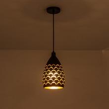 קשקשים הולו סגנון ברזל תקרת droplight led ceilight אור כבל תליון מנורות לסלון מסעדה stairway תאורה