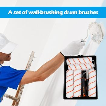 Home Wall Decoration Brush Pro Wall Painting Tools Paint Roller Set Room Wall Painting Brushes Set Home Repack Tool фото