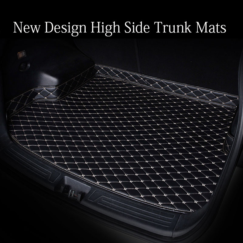 Custom Fit Car Trunk Mats Cargo Liner For Toyota Tundra Sequoia 4Runner 6D Heavy Duty All Weather Car-styling Carpet Floor Liner