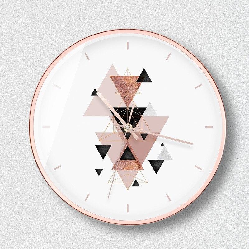 Européen silencieux horloge murale salon moderne Degins Quartz horloge salon chambre Relojes Madera Pared idées cadeaux BB50
