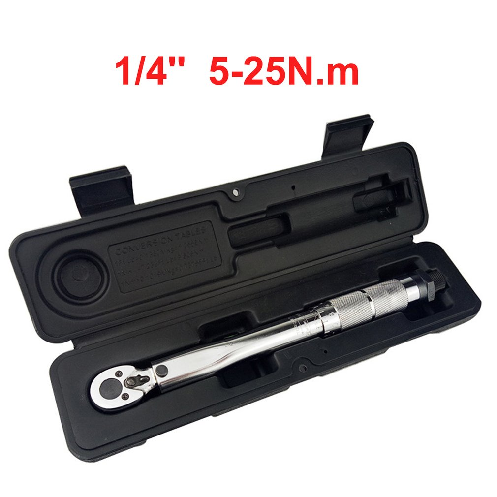 1/4 3/8 1/2 Torque Wrench Drive Two-Way To Accurately Mechanism Wrench Hand Tool Spanner Torquemeter Preset Ratchet