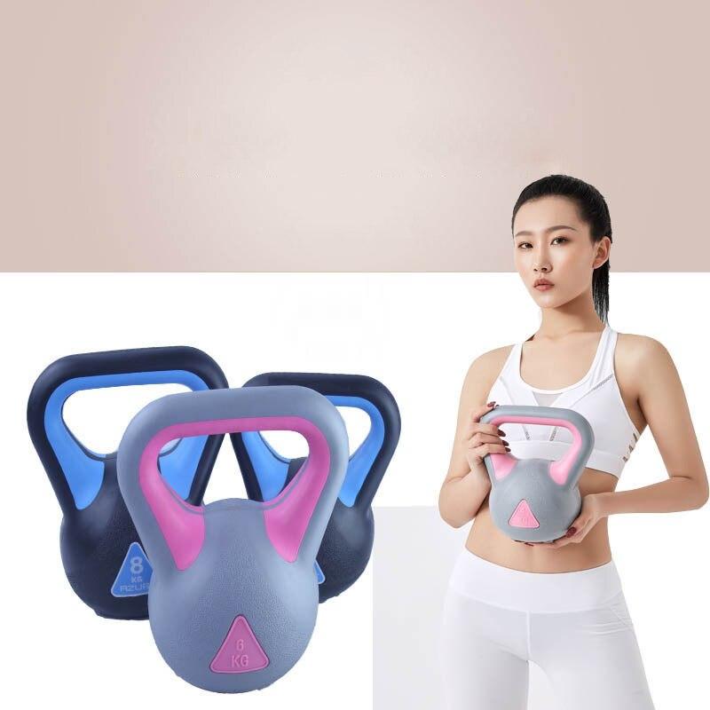 8kg New Style Professional Fitness Kettle Bell Body Building Lifting Kettle-bell Unisex Exercise Kettlebell Swing