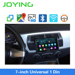 Image 2 - JOYING Android 8.1 Car Autoradio 1 Single DIN 7 Head Unit HD Multimedia Stereo Car Radio Player Bluetooth FM WIFI Mirror Link