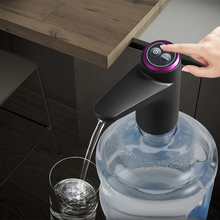 Elektrische Wasser Flasche Pumpe USB Lade Touch Control Barreled Schalter Wasser Automatische Wasser Dispenser für Küche Liefert