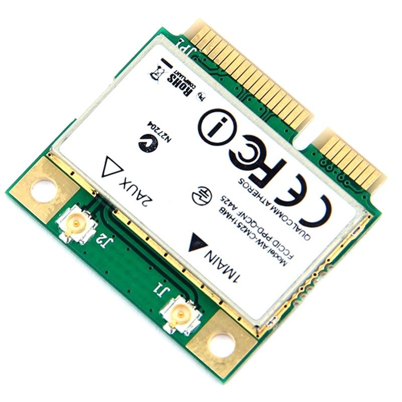 Беспроводной-Ac двухдиапазонный для Qualcomm Atheros Qca9377 Aw-Cm251Hmb Mini Pci-E Wifi карта 433 Мбит/с Bt4.1 802.11Ac лучше Intel 3160