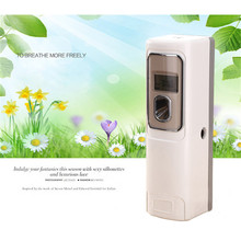 Fragrance Machine Set LCD Timing Automatic Aerosol Dispenser Air Freshener Automatic Timing Aerosol Dispenser free shipping 1pc mechanical watch timing tester timegrapher multifunction timing machine mtg 1500