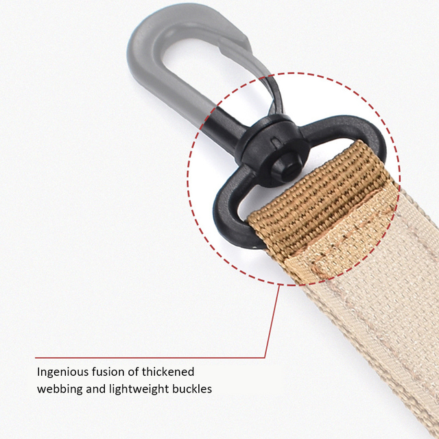 360° Rotating Hook Ribbon Buckle