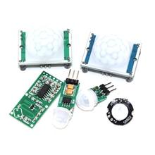 HC-SR501 HC-SR505 SR602 AM312 Adjust IR Pyroelectric Infrared PIR Motion Sensor Detector