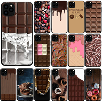 Willie Wonka-funda con billete dorado para iPhone, protector de barra de Chocolate dulce para iPhone 7 8 X XS Max XR 5 5s SE 2020 6 6s 11 12 Pro Max 12 Mini
