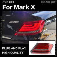 AKD Car Styling for Toyota Mark X Tail Lights 2005 2009 Reiz LED Tail Light LED Lamp DRL Signal Brake Reverse auto Accessories