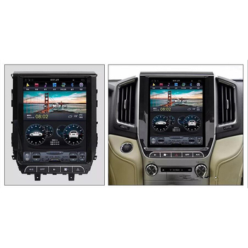 CHOGATH 12.1 ''android 7.1 Vertical Screen system 2+32G Car Radio GPS Multimedia Stereo for Toyota Land Cruiser 2016 2017 2018
