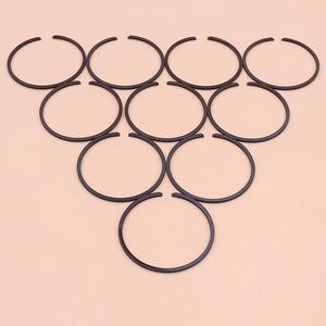 Image 1 - 10 pcs/lot segments de Piston pour coupe gazon débroussailleuse Strimmer tronçonneuse pièce de rechange 35mm x 1.2mm