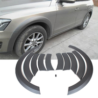 PP Car Wheel Arch Eyebrow Stripe Car Fender Wheel Modling Trims For Audi Q5 Standard Bumper 2009 2013