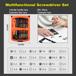 Image 3 - GZERMA 45 in 1 Multifunctional Opening Screwdriver Kit Mobile Phone Repair Tool Set For iPhone 11 X 7 6s For Huawei P20 Lite P30
