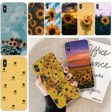 MayDaysmt sunflowers Cover Black Soft Shell Phone Case For iphone 6 6s plus 7 8 plus X XS XR XS MAX 11 11 pro 11 Pro Max Cover ljhydfcnb wave spray cover soft shell phone case for iphone 6 6s plus 7 8 plus x xs xr xs max 11 11 pro 11 pro max cover