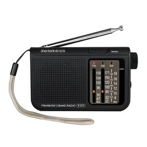 RETEKESS V117 Radio Portable A