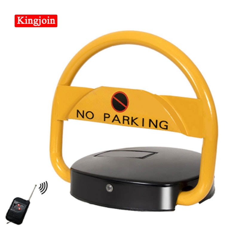 KINGJOIN Energy Saving Environmental Protection Steel Remote Automatic Cheap Price Solar Power Car Solar Parking Lock