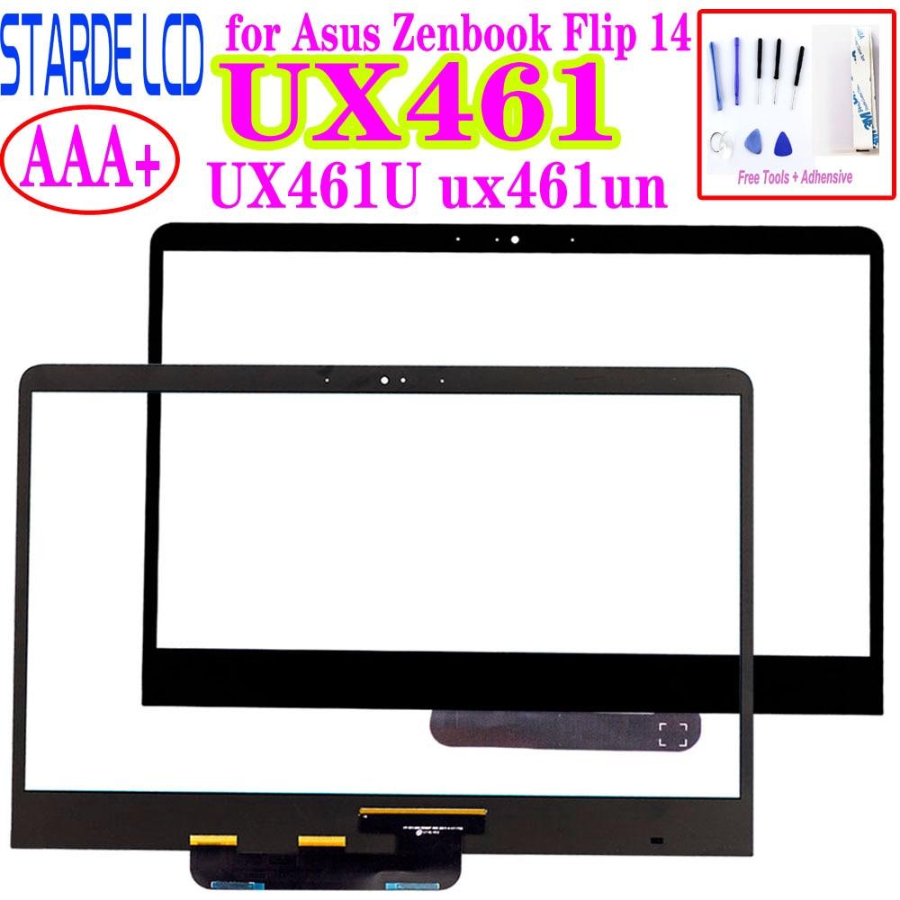 14inch Touch Screen Digitizer Glass For Asus Zenbook Flip 14 UX461U Ux461un Ux461