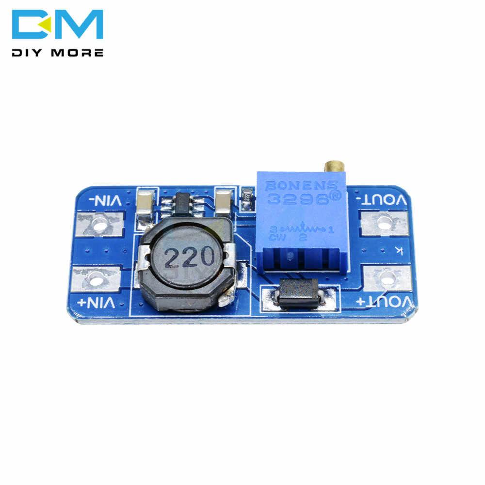 Bricolage plus DC-DC MT3608 convertisseur de puissance Boost carte d'alimentation Booster puissance MAX sortie 28V 2A pour Module Arduino Kit bricolage