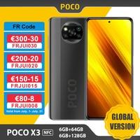 Global Version Xiaomi POCO X3 NFC Smartphone 6GB 64GB /128GB Snapdragon 732G 6.67'' 64MP Camera 33W Fast Charge 5160mAh Battery 1